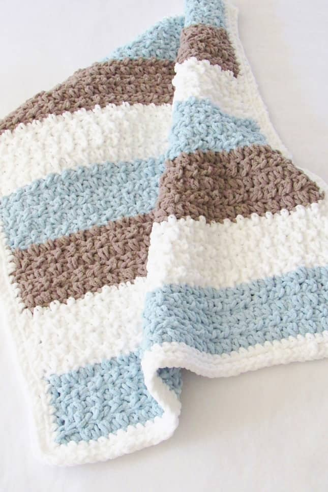 This list of patterns contains some of the best baby blankets around. There's a perfect choice for whatever your needs are.