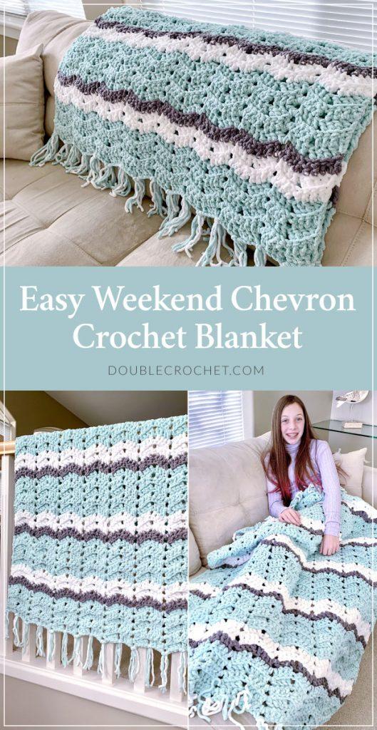 Easy Weekend Crochet Blanket